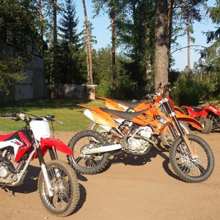 KTM rental Latvia