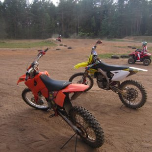 motocross bike rental
