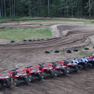 quad biking, ATV rides, safari Latvia
