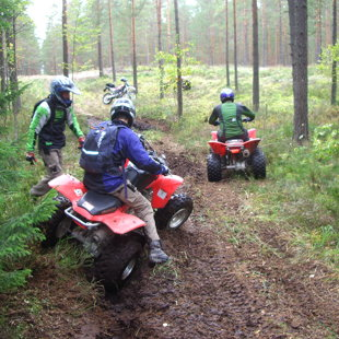Quad biking tour (Latvia)